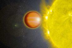 Стратосфера уникальной планеты WASP-18b полностью состоит из угарного газа