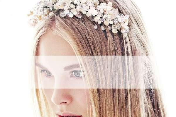 Свадебные украшения для волос: тиары, диадемы, ободки, гребни