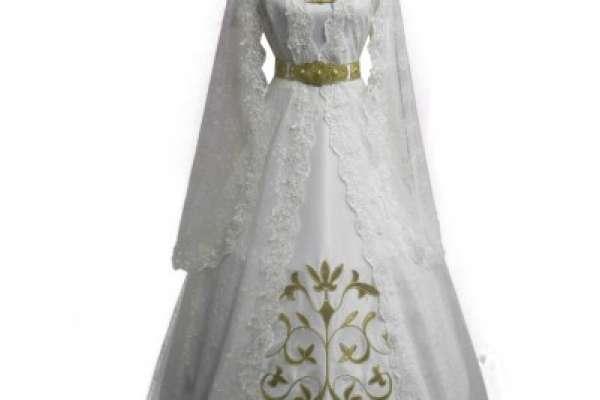 Национальные кавказские свадебные платья по низким ценам