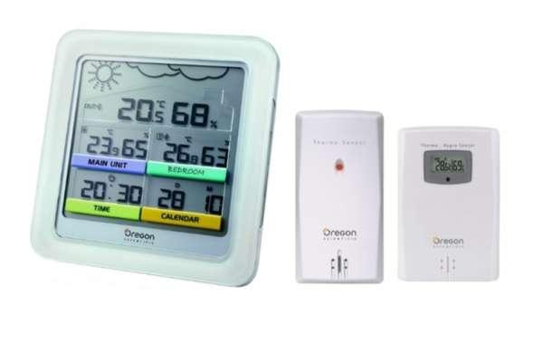 Домашняя метеостанция с беспроводным датчиком