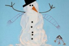 Рисунки зима. Зимние рисунки для детей