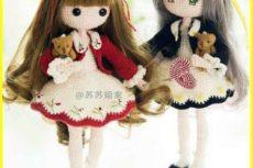 Вязаная куколка Мора(описание вязания) — Игрушки крючком