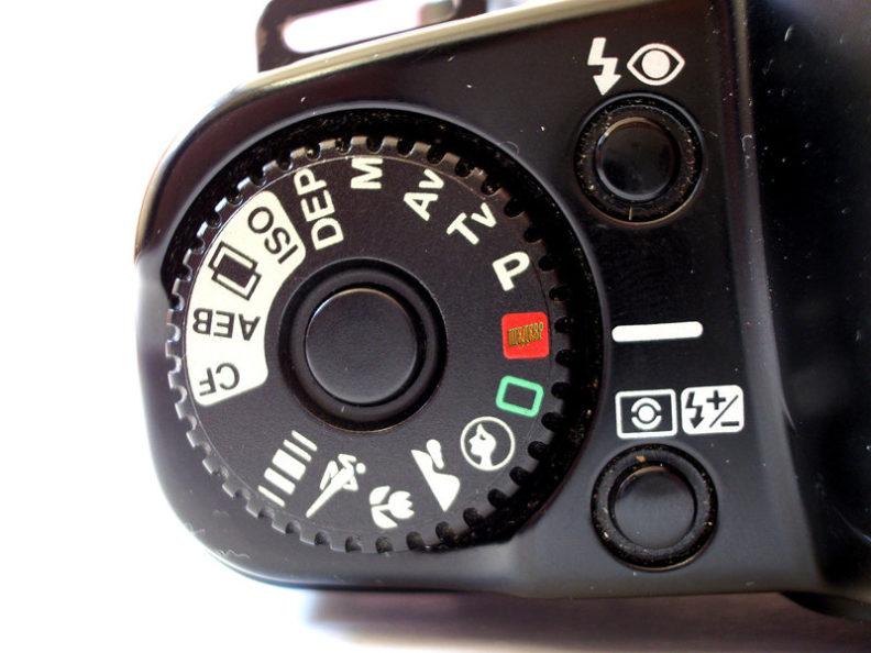 Что такое режим Р на фотоаппарате