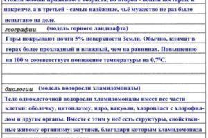 Задания к главе 2 «Моделирование и формализация» (ответы)
