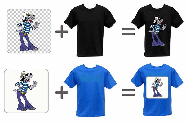 Как нанести логотип на футболку