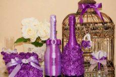 Декор Бутылок Своими Руками Для Украшения Интерьера, Свадьбы Или Дня Рождения, Виды и Идеи Красивого Декорирования