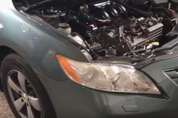 Замена масла АКПП Тойота Камри