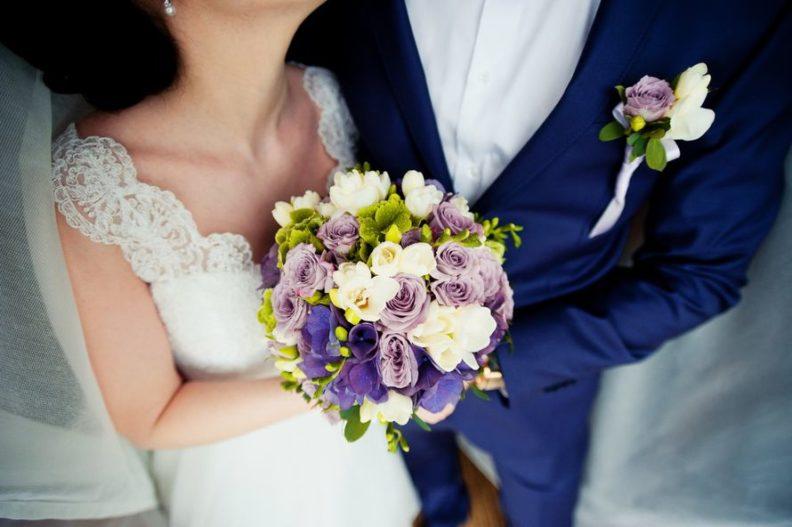 Выбор букета невесты и бутоньерки жениха