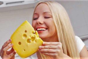Сорта нежирных сыров при диете