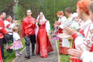 Традиции и обряды русской свадьбы