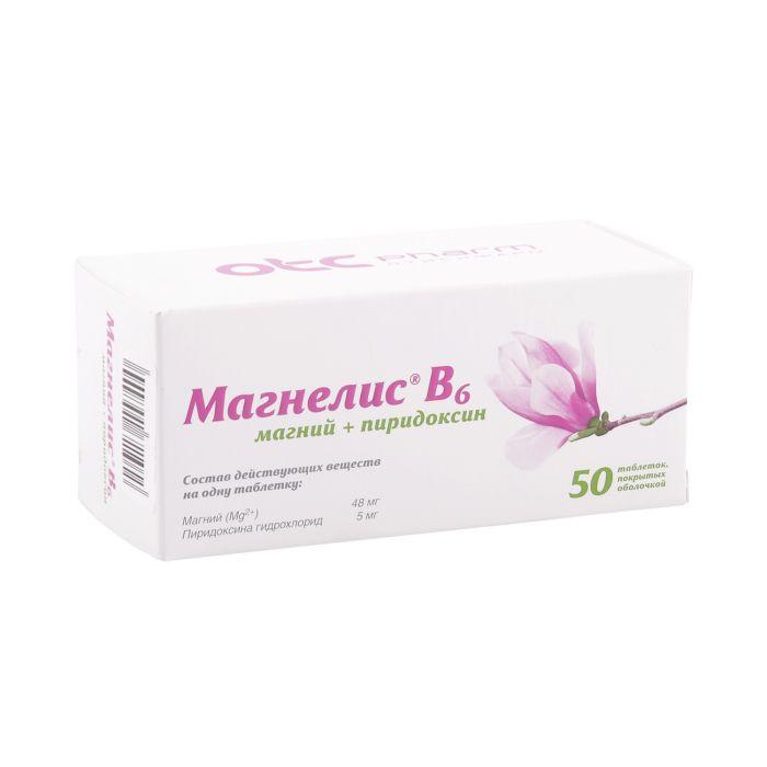 Магнелис В6 от нервов