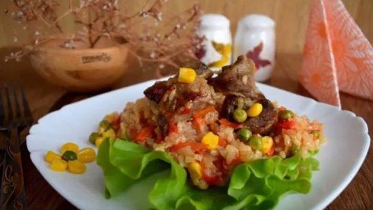 Рис по-каталонски рецепт