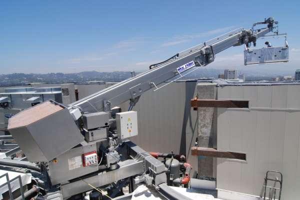 Системы BMU для обслуживания фасадов высотных зданий