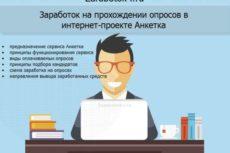 Анкетка.ру. Заработок в интернете на прохождении опросов на сайте Анкетка.ру