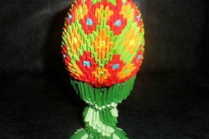 » Пасхальное яйцо» модульное оригами