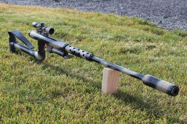 Снайперская винтовка из ПВХ-труб