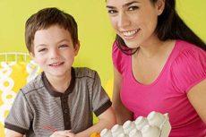 Поделки из картонной упаковки от яиц