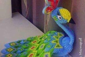 Мастер класс «Жар-птица» модульное оригами