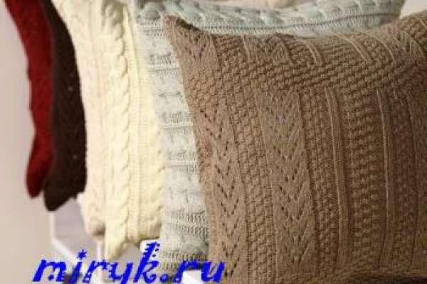 вязаные подушка со знаком зодиака крючком