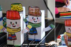 Как сделать снеговика своими руками: снеговик из бумаги, снеговик из ниток, снеговик из носка