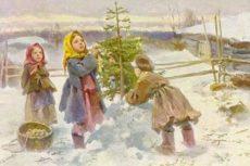 Как в царской России отмечали Рождество Христово и Новый год