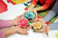 Цветы из фоамирана своими руками — мастер класс