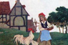 Красная Шапочка Сказка для детей с картинками