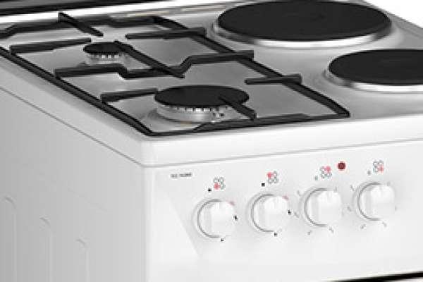 Комбинированные плиты с электрической духовкой (газово-электрические плиты) от компании Darina
