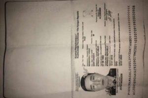 Паспорт Киргизии — Документы — Москва — Потерявшиеся и найденные документы