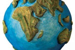 Как сделать модель Земли? Модель поверхности Земли