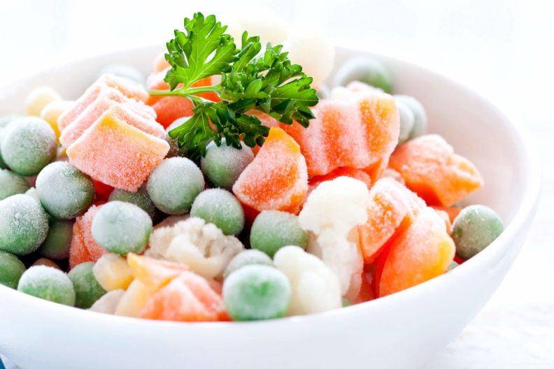 Секреты заморозки овощей