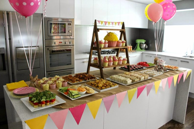 Организация детского дня рождения дома