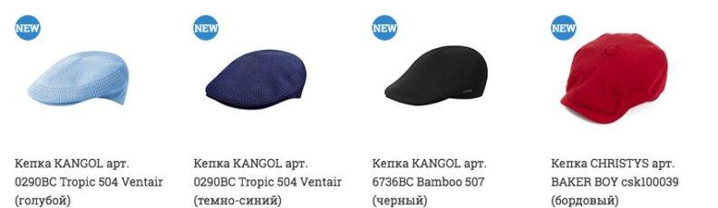 Летние кепки для мужчин