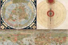 Оцифрована странная карта, которой 430 лет