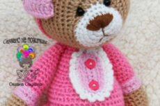 Мишка крючком / Вязание игрушек