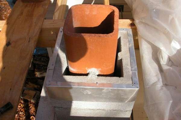 Гильзование дымохода: варианты ремонта и используемые материалы