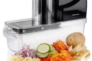 Овощерезка электрическая профессиональная для дома. Кухонная техника