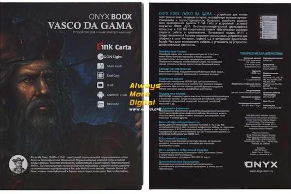 Открывайте новые горизонты познания. Обзор электронной книги Onyx BOOX Vasco da Gama