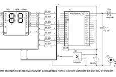 Измеритель расхода (расходомер) теплоносителя в автономной системе отопления