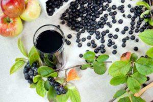 Вино из черноплодной рябины в домашних условиях
