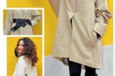 Выкройка пальто oversize, как сшить пальто