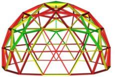 Инструкция к калькулятору для расчёта купольных конструкций