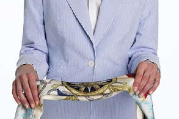 Как красиво повязать шарф и кашне. Как носить длинный шарф (палантин, столу)