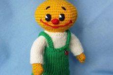 Чиполлино крючком / Вязание игрушек