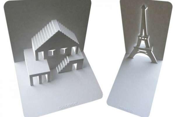 Объемные открытки своими руками — pop-up архитектура