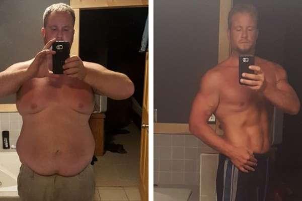Как Даг Байнтнот благодаря фитнесу потерял 60 килограмм