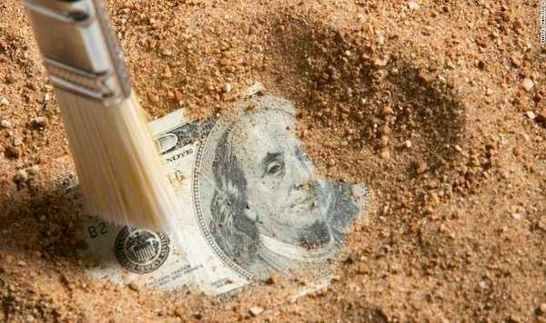 Сбереженные деньги и найденные земли