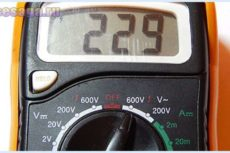 Прибор для измерения напряжения. Как измерить напряжение мультиметром