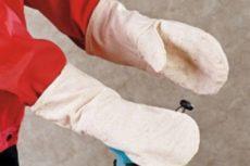 Выкройка рабочей рукавицы и инструкция по ее шитью