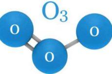 Молекула озона: строение, формула, модель. Как выглядит молекула озона?